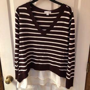 Brand new Burgundy dress sweater! ✨